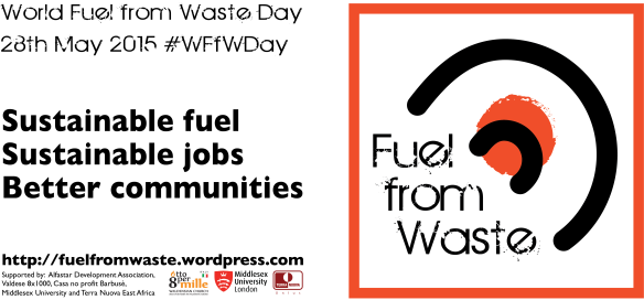 Fuel from Waste - World FfW Day 2015 Banner